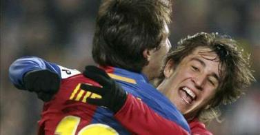 Gana el Barza 3-2 al Espanyol en Copa del Rey