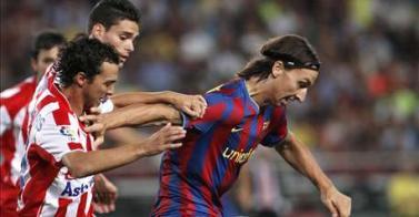 Ganó el Barza al Sporting 1-0 en Gijón