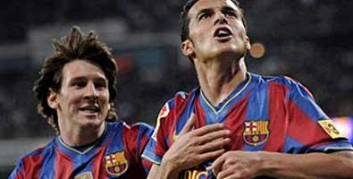 Barcelona venció al Real Madrid en Liga española de fútbol