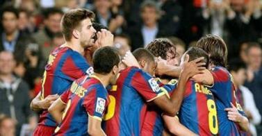 Ganó el Barza 2-1 al Valencia