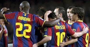 Arrollador el Barcelona vs el Sevilla, ganó 5-0