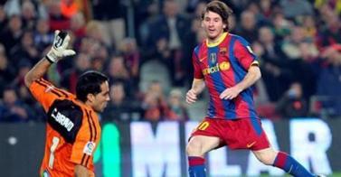 El Barça baila al ritmo de Messi