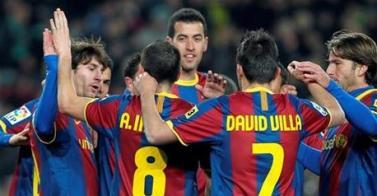 El Barcelona vuelve a maravillar a su público