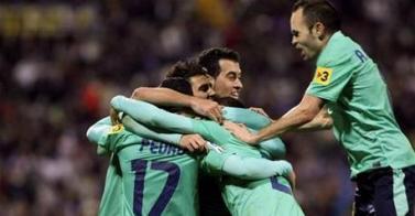El Barça aleja a los fantasmas herculanos