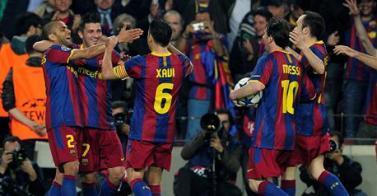 Liga de Campeones - El Barcelona da forma al mes de los Clásicos