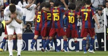 Dos goles de Messi dan triunfo al Barza frente al Real Madrid