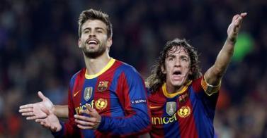 La zaga del Barça noquea al Zaragoza