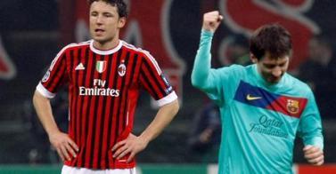Messi rompe por fin su gafe italiano