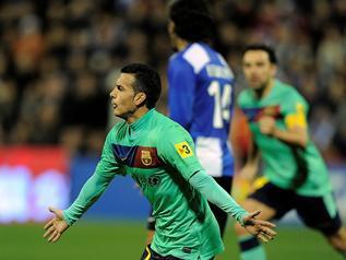 El único rival que había conseguido mantener su puerta a cero ante el Barça en la presente temporada acabó sucumbiendo al buen hacer culé. - 2