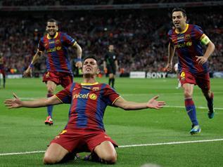 Los hombres de Guardiola y un genial Leo Messi sacan su mejor fútbol para derrotar (3-1) al Manchester United y ganar su cuarta Copa - 3