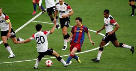 Los hombres de Guardiola y un genial Leo Messi sacan su mejor fútbol para derrotar (3-1) al Manchester United y ganar su cuarta Copa - 2