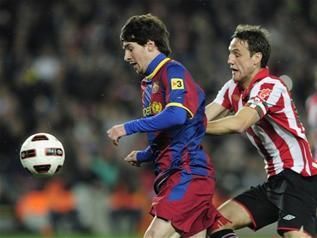 El Barça se estaba atragantando ante un buen Athletic hasta que apareció el genio culé para decidir el choque y alejar de nuevo a su enemigo - 2